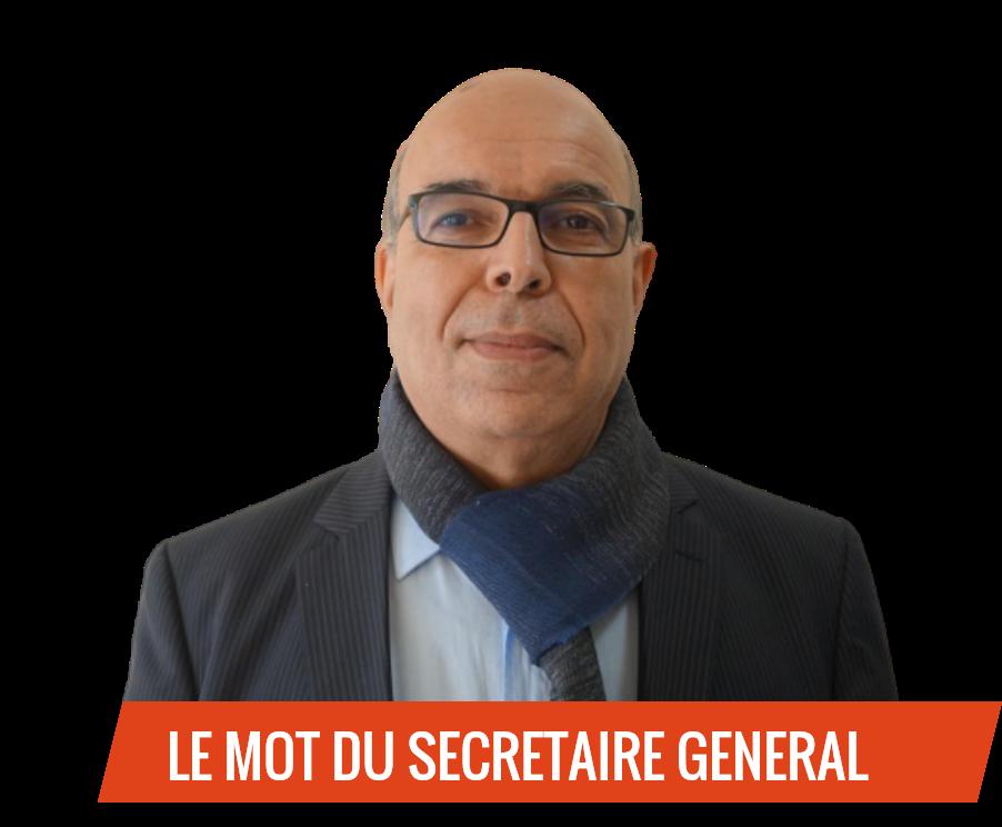 Secrétaire général de la FESSAD
